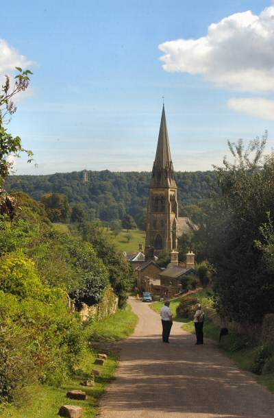 Edensor, Chatsworth Park - Derby Evening Telegraph